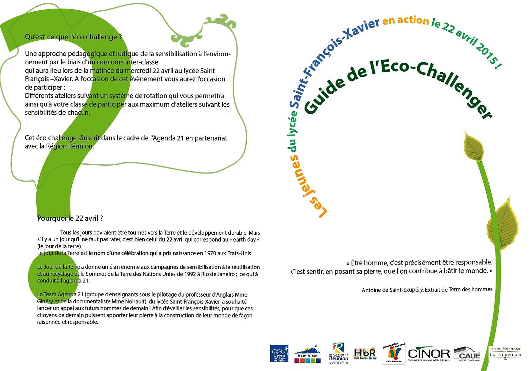 Guide éco-challenger